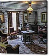 Nevada City Hotel Parlor - Montana Acrylic Print