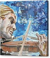 Never Forget The Sound Of Violin Acrylic Print