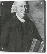 Nevil Maskelyne, English Astronomer Acrylic Print