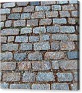 New Bedford Mass Brick Street 2006 Acrylic Print