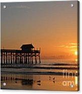 New Day On The Beach Acrylic Print