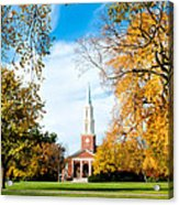New England Style Acrylic Print