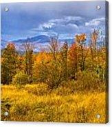 New Hampshire Fall Color Part Deux Acrylic Print