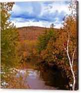 New Hampshire Fall Color Part Three Acrylic Print