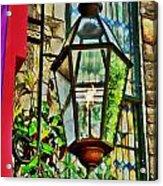 New Hope Gas Street Light Digital Painting Acrylic Print