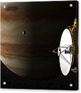 New Horizons Flies By Jupiter Acrylic Print
