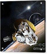 New Horizons Spacecraft At Pluto Acrylic Print