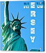 New Jersey Acrylic Print