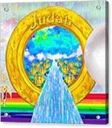 New Jerusalem Closeup - City Of God's Kingdom On Earth Acrylic Print