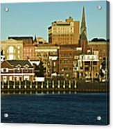 New London Waterfront Acrylic Print