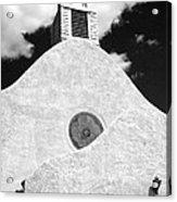 New Mexico Church Acrylic Print by Sonja Quintero