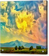 New Mexico Dawn Acrylic Print