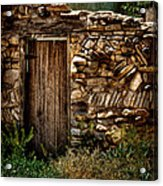 New Mexico Door II Acrylic Print
