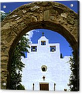 New Mexico Mission Acrylic Print