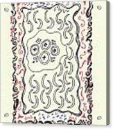 New Mexico Moon 4 Acrylic Print