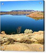New Mexico Series - Abiquiu Lake Acrylic Print