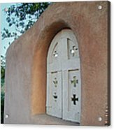 New Mexico Series - Adobe Arch Acrylic Print