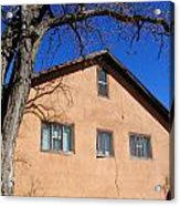 New Mexico Series - Adobe Building Acrylic Print