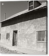 New Mexico Series - Adobe House In Truchas Acrylic Print