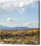 New Mexico Series - Autumn Landscape Acrylic Print