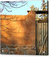 New Mexico Series - Doorway II Acrylic Print