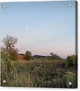 New Mexico Series - Moonrise Acrylic Print