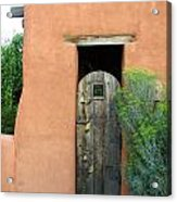 New Mexico Series - Santa Fe Doorway Acrylic Print