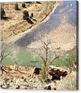 New Mexico Series A River View Acrylic Print