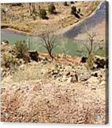 New Mexico Series Turn Of The River Acrylic Print