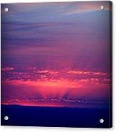 New Mexico Sky Colors Acrylic Print