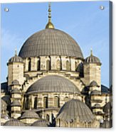 New Mosque In Istanbul Acrylic Print