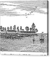 New Orleans, 1719 Acrylic Print