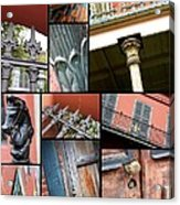 New Orleans Collage 1 Acrylic Print