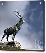 New Orleans Stag Statue Acrylic Print