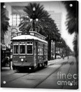 New Orleans Streetcar 2 Acrylic Print