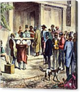 New Orleans: Voting, 1867 Acrylic Print