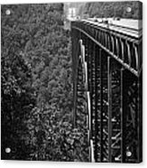 New River Gorge Bridge Fayetteville West Virginia Acrylic Print