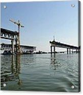 New Ulyanovsk Bridge, Russia Acrylic Print