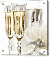 New Year Champagne Acrylic Print