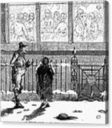 New Years Eve, 1859 Acrylic Print