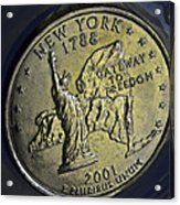 New York 2001 Acrylic Print