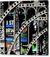 New York Abstract 1 Acrylic Print