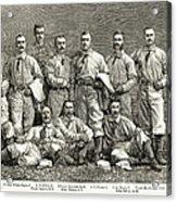 New York Baseball Team Acrylic Print