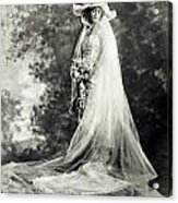 New York: Bride, 1920 Acrylic Print