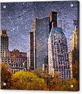New York Buildings Acrylic Print