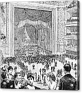 New York Charity Ball, 1884 Acrylic Print