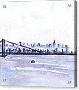 New York City Blues Acrylic Print