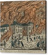 New York City Fire Of September 21-22 Acrylic Print