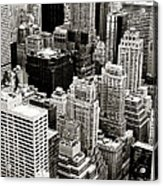 New York City From Above Acrylic Print