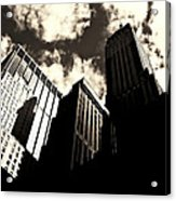 New York City Skyscrapers Acrylic Print